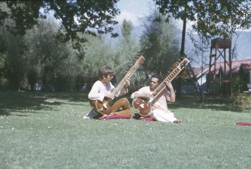 George Harrison: Living in the Material World, una scena del film