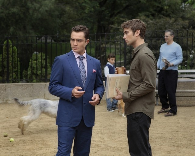 Gossip Girl: Ed Westwick e Chace Crawford nell'episodio Memoirs of an Invisible Dan