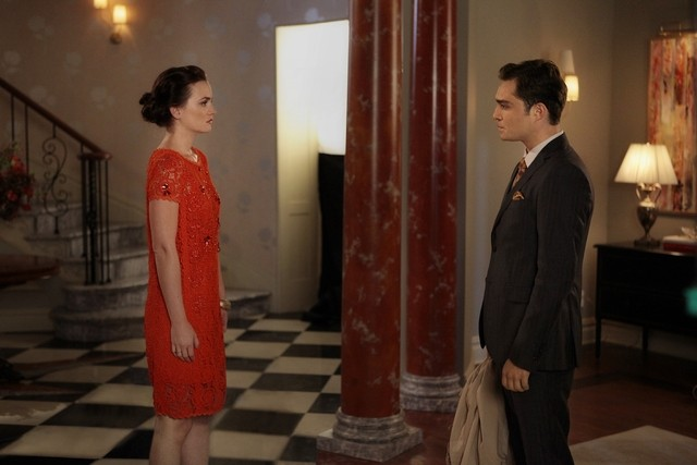 Gossip Girl: Ed Westwick e Leighton Meester nell'episodio I Am Number Nine