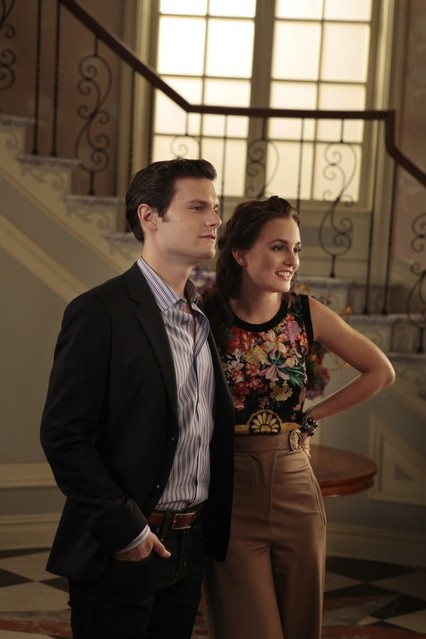 Gossip Girl: Hugo Becker e Leighton Meester nell'episodio Memoirs of an Invisible Dan