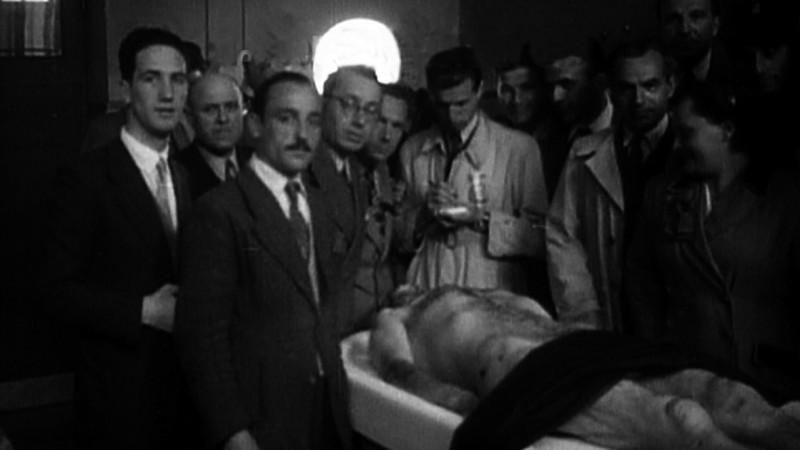 Il corpo del duce: una scena tratta dal documentario di Fabrizio Laurenti