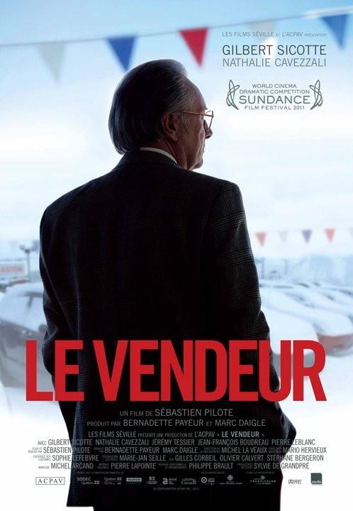 Le vendeur: la locandina francese del film diretto da Sébastien Pilote