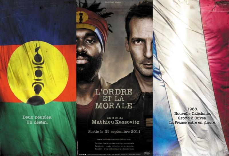 Mathieu Kassovitz in una immagine promo de L'ordre et la morale