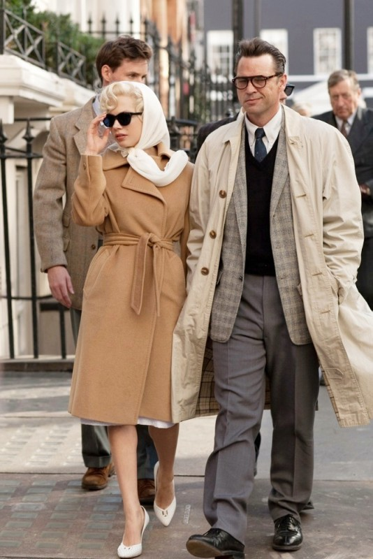 Michelle Williams in My Week With Marilyn accanto a Dougray Scott