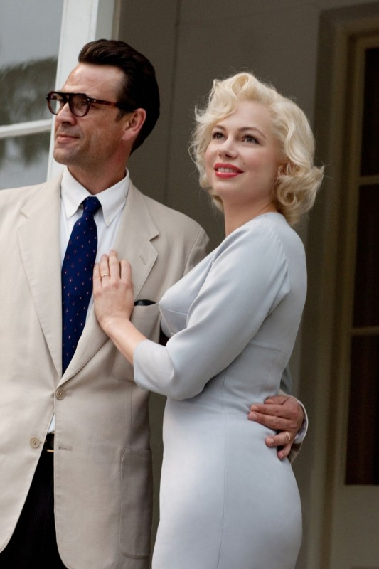 Michelle Williams in My Week With Marilyn con Dougray Scott
