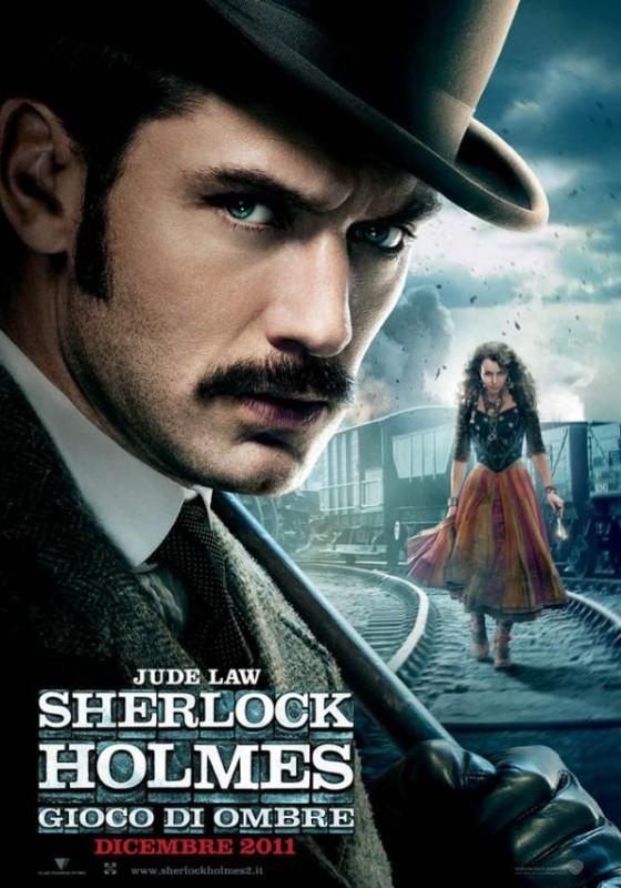 Sherlock Holmes: Gioco di ombre, una delle locandine italiane del film