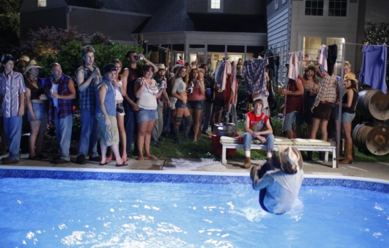 Una divertente scena tratta dal film A good old fashioned orgy