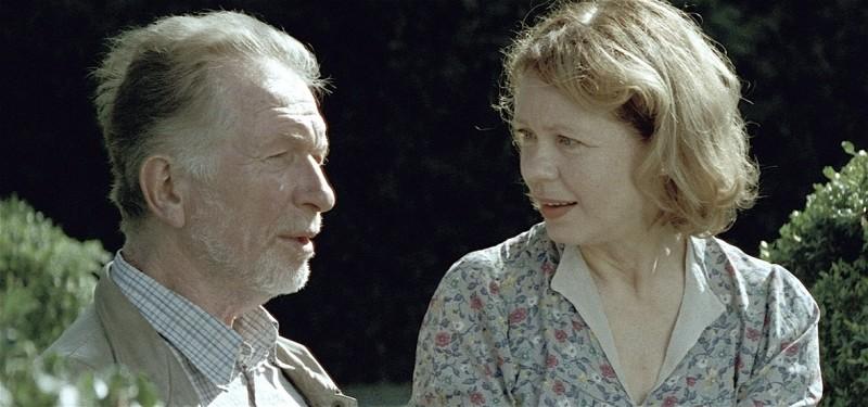 Way Home: Hermann Beyer e Renate Krößner in una scena del film