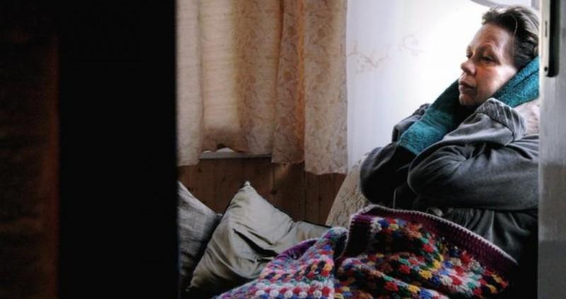 Way Home: Renate Krößner in una scena tratta dal film