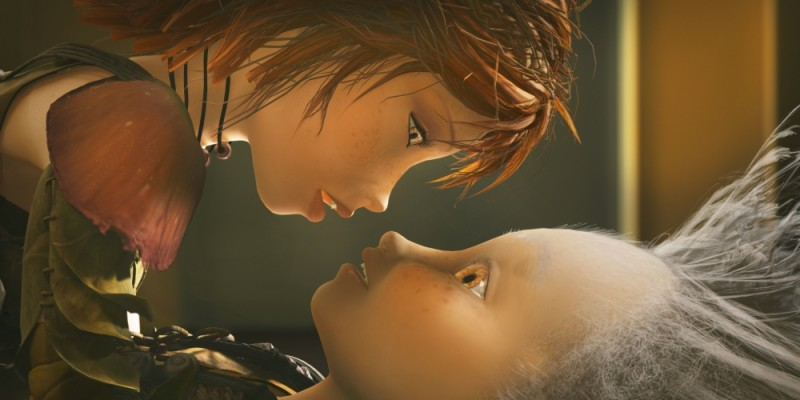 Arthur e Selenia in un'immagine tratta da Arthur 3: La guerra dei due mondi