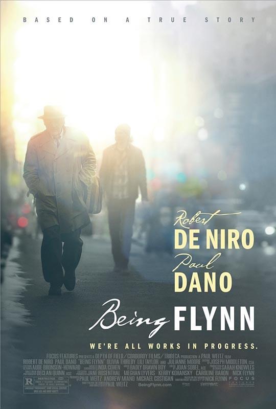 Being Flynn: la locandina del film