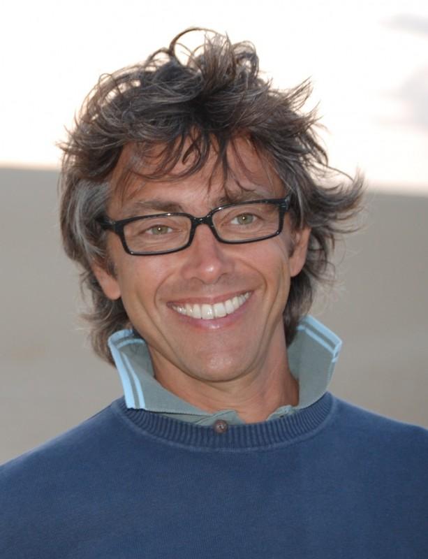 Corrado Trionfera in una foto scattata nel deserto a Tozeur