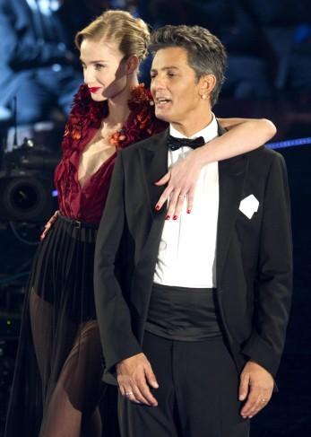 Fiorello durante Il più grande spettacolo dopo il week end con Eva Riccobono