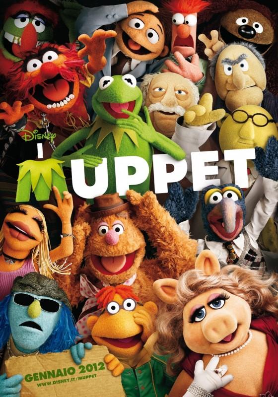 I Muppet: un poster italiano del film