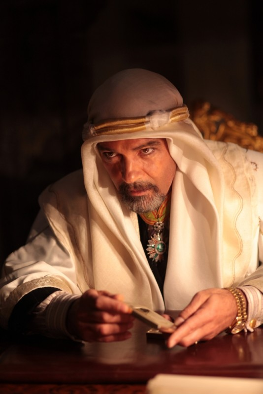 Il principe del deserto, Antonio Banderas in una scena del film