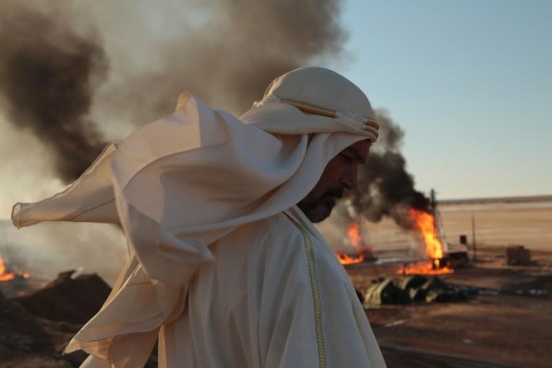 Il principe del deserto, Antonio Banderas nei panni di  Nassib in una scena del film