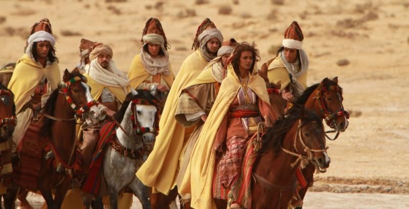 Il principe del deserto, Liya Kebede a cavallo in una scena tratta dal film