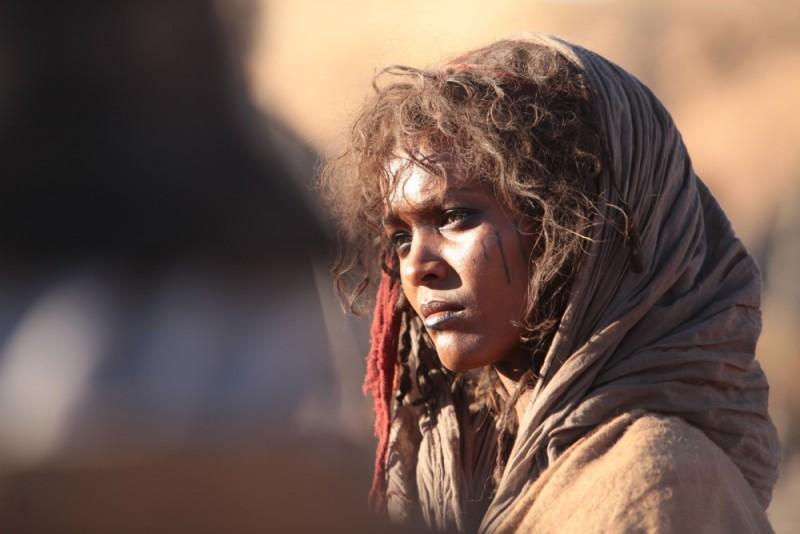 Il principe del deserto, Liya Kebede in un'immagine del film