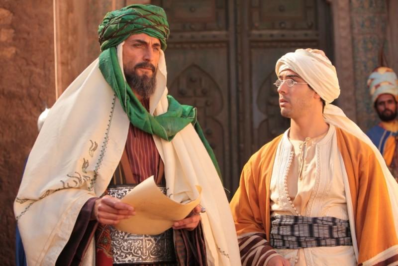 Il principe del deserto, Mark Strong e Tahar Rahim in un'immagine del film