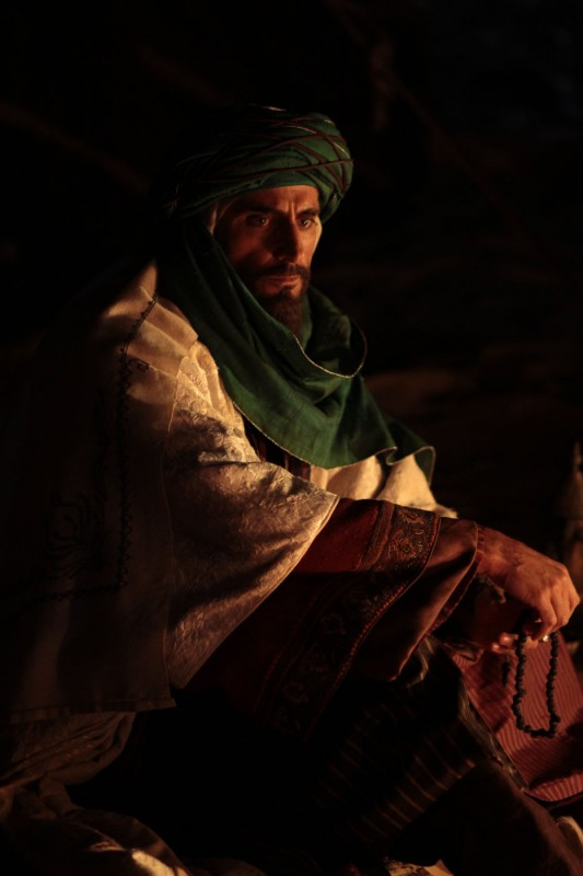 Il principe del deserto, Mark Strong in una scena del film