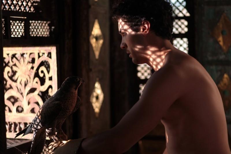 Il principe del deserto, Tahar Rahim in un'immagine del film