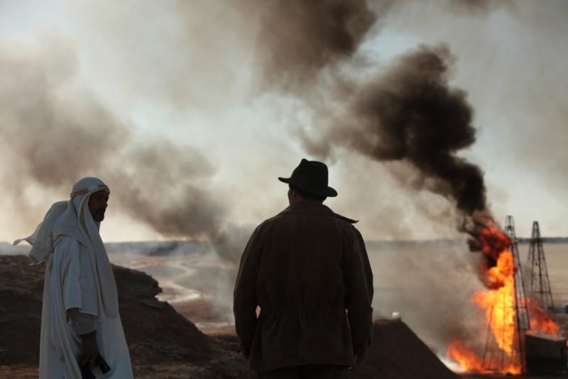 Il principe del deserto, un'immagine tratta dal film