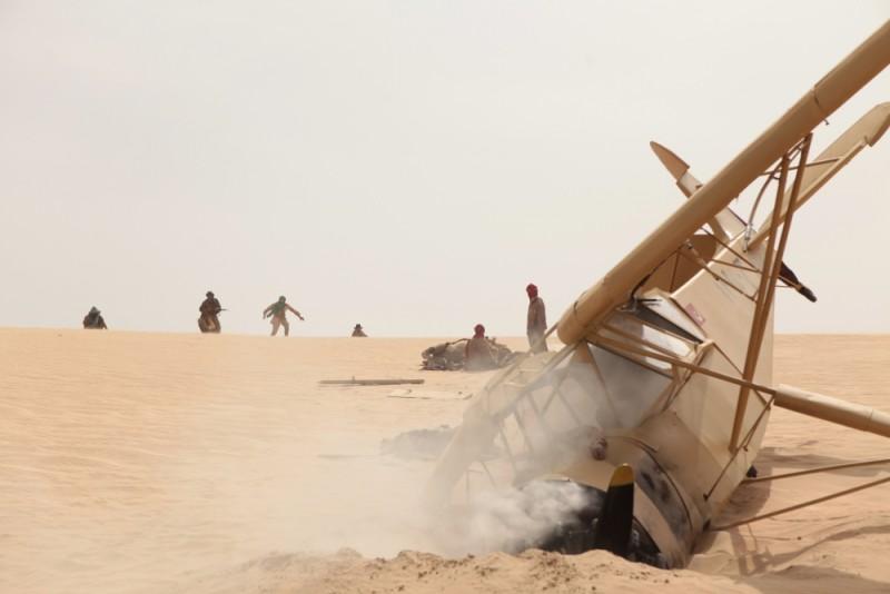 Il principe del deserto, una scena del film