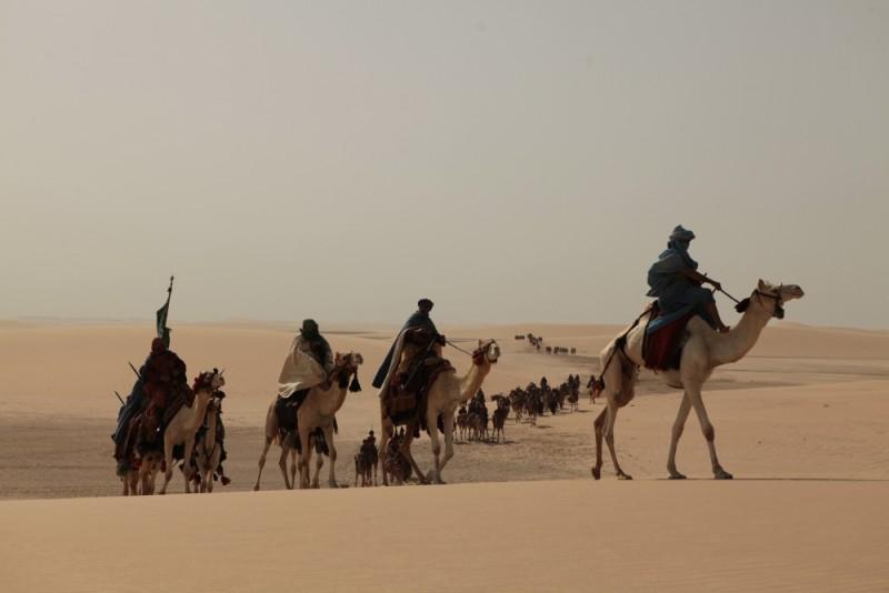 Il principe del deserto, una suggestiva immagine tratta dal film