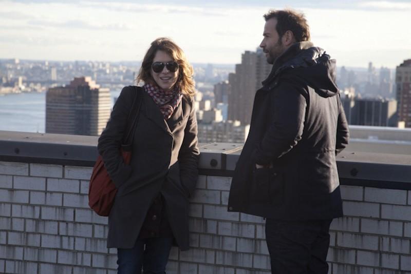 Isabella Ragonese e Fabio Volo protagonisti del film Il giorno in più