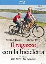 La copertina di Il ragazzo con la bicicletta (blu-ray)