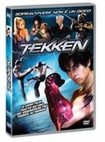 La copertina di Tekken (dvd)