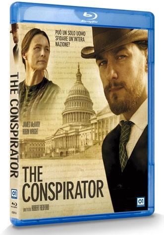 La copertina di The Conspirator (blu-ray)