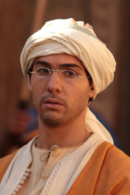 Tahar Rahim in un'immagine del film Il principe del deserto