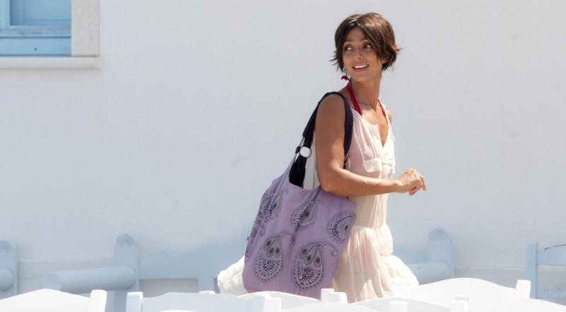 Ambra Angiolini in una scena del film Immaturi - Il viaggio