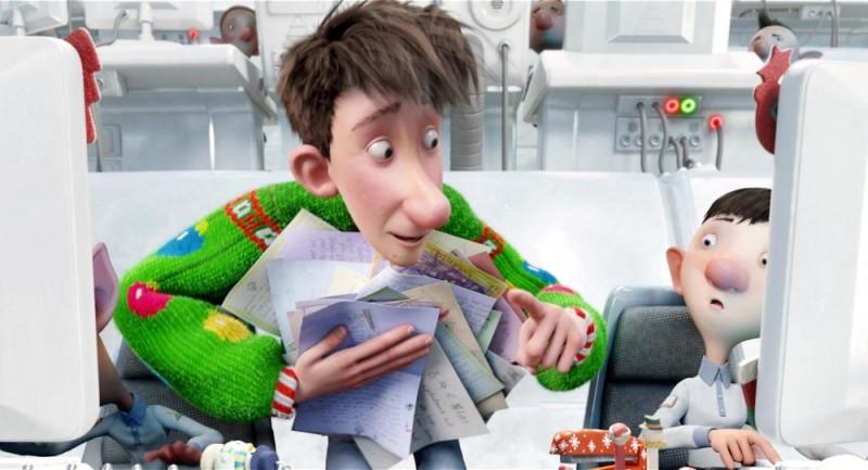 Arthur Christmas: Il figlio di Babbo Natale in 3D, un'immagine tratta dal film
