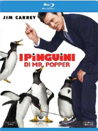 La copertina di I pinguini di Mister Popper (blu-ray)