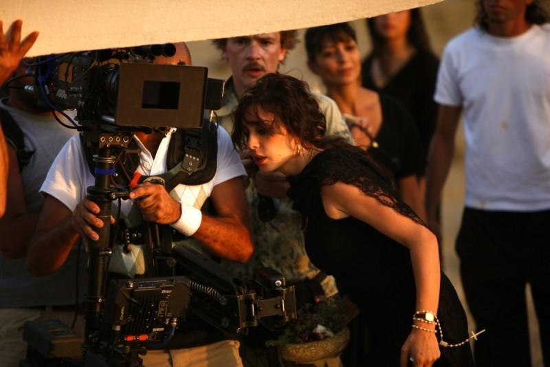 Nadine Labaki sul set del suo Where Do We Go Now?