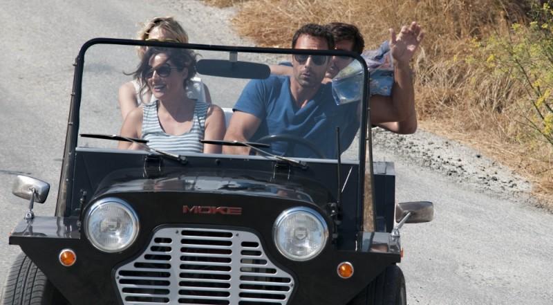 Raoul Bova, Luisa Ranieri e Ricky Memphis in una scena di Immaturi - Il viaggio