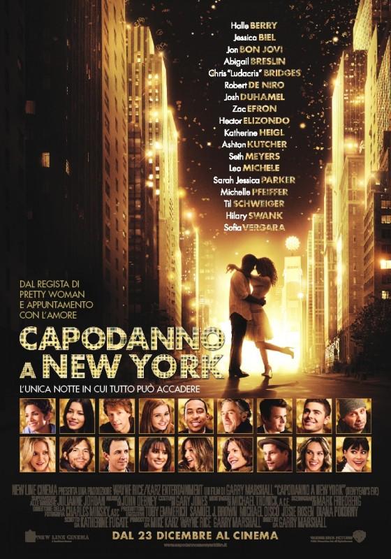 Capodanno a New York: la locandina italiana del film