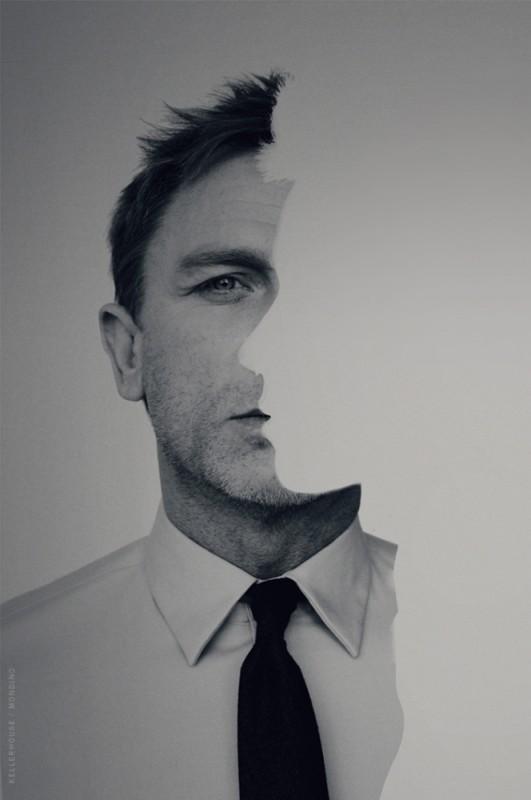 Daniel Craig in una foto promozionale del film Millennium - Uomini che odiano le donne
