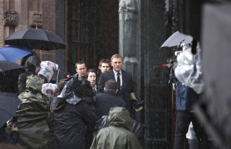 Daniel Craig in una scena del film Millennium - Uomini che odiano le donne