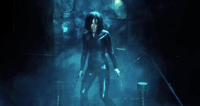 Kate Beckinsale in un'immagine tratta da Underworld: Il risveglio
