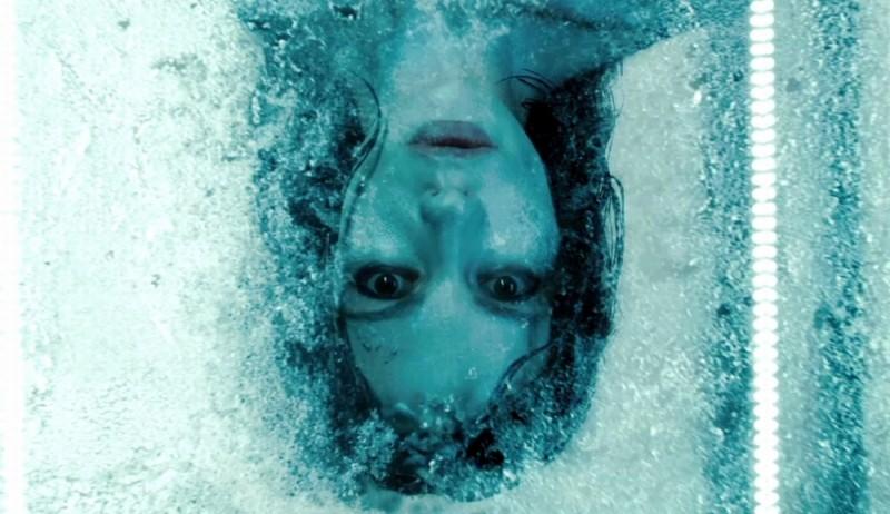 Kate Beckinsale in una suggestiva immagine del film Underworld: Il risveglio