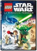 La copertina di Lego Star Wars - La minaccia Padawan (dvd)