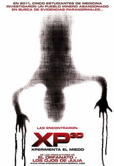 Paranormal Xperience 3D: la locandina del film