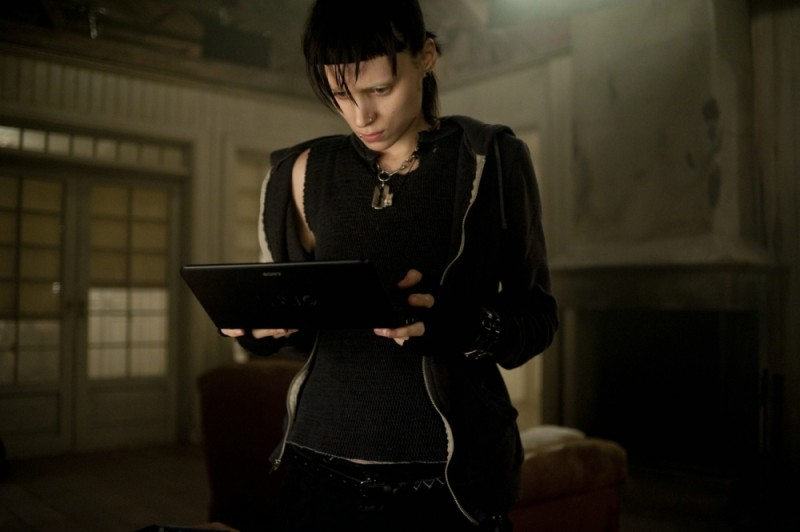 Rooney Mara in un'immagine del film Millennium - Uomini che odiano le donne