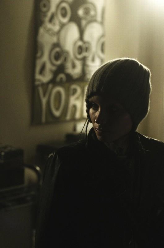 Rooney Mara in un'immagine tratta dal film Millennium - Uomini che odiano le donne