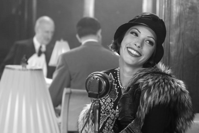 The Artist: Bérénice Bejo nei panni elegantissimi di Peppy Miller in una scena del film