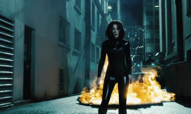 Underworld: Il risveglio, Kate Beckinsale in un'immagine del film