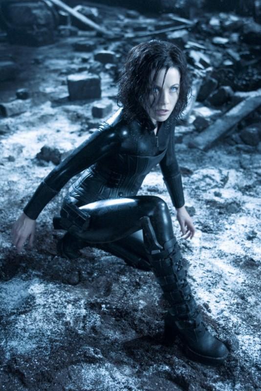 Underworld: Il risveglio, Kate Beckinsale in una scena del film
